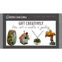 Buffalo Creek Gallery Website